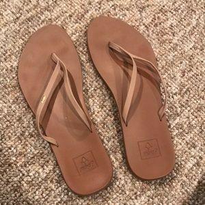 Reef flip flops - beige - 9